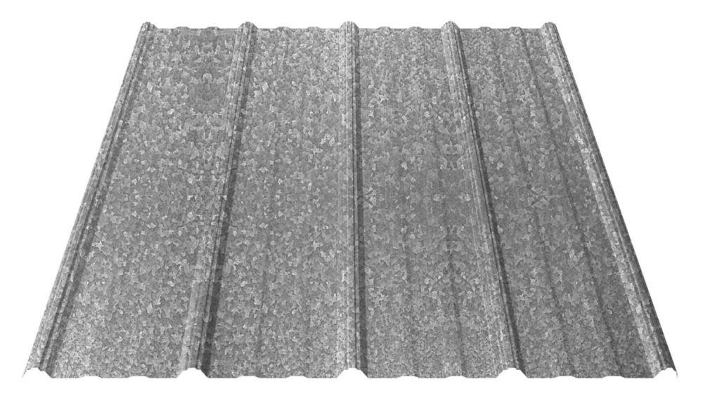 UltraVic 8 Feet Galv Roof Sheet 29 Ga