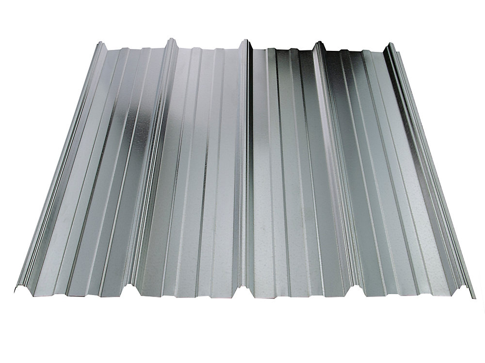 Vicwest Cladding Ultravic 10 Feet Galvanized Metal Roof