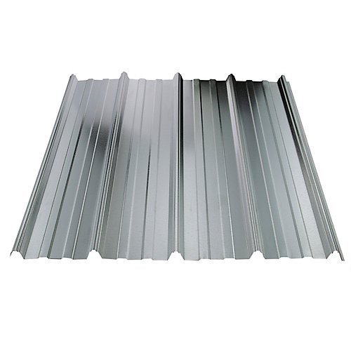 UltraVic 10 Feet Galvanized Metal Roof Sheet 29 Ga