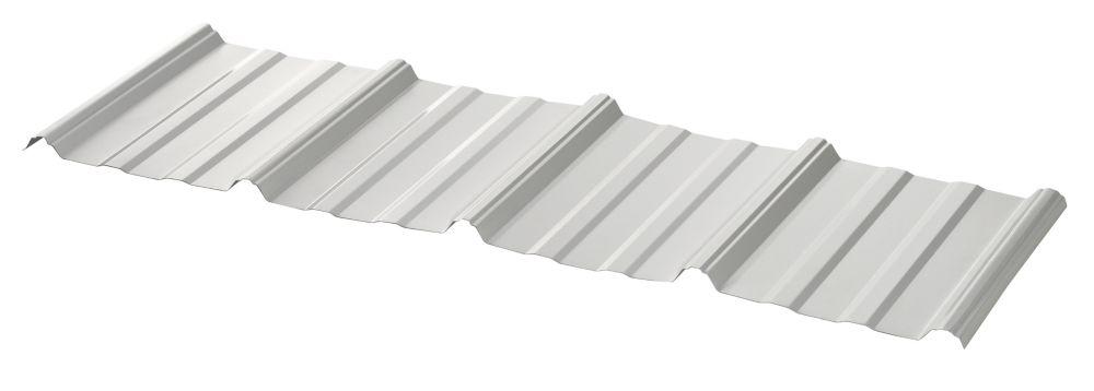 UltraVic 10 Feet White Roof Sheet 29 Ga