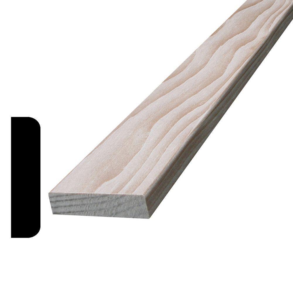 Couvre-joints en pruche/sapin baumier 3/8 x 1 1/2