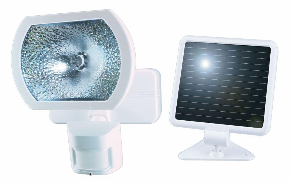 Éclairage de détection de mouvement à énergie solaire