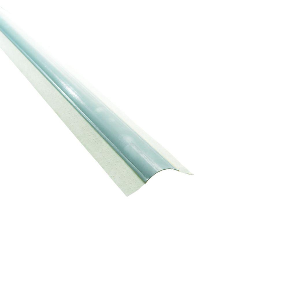Paper-Faced Metal Inside Corner Bead, Bullnose 3/4 In. radius, 8 Ft.