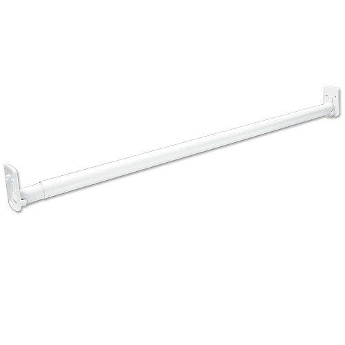 ClosetMaid Selectives 30 -inch - 48 -inch White Adjustable Teardrop Closet Rod