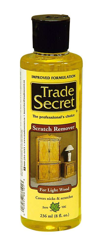 Trade Secret Scratch Remover Light Wood 236Ml (S)