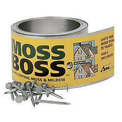 Peak Products Moss Boss 2 5/8-inch x 50 ft. Zinc Moss Killer