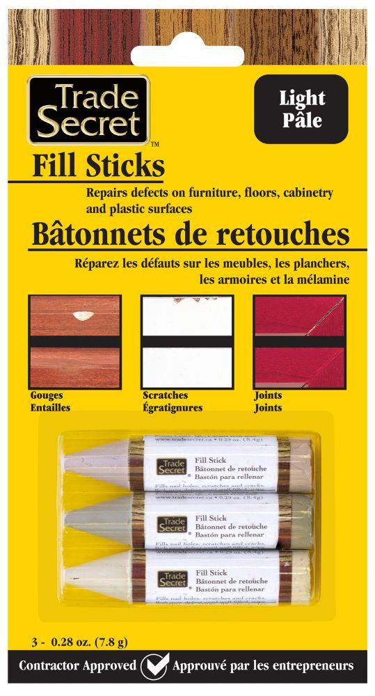 Trade Secret Fill Stick - Light - Set Of 3 (S)