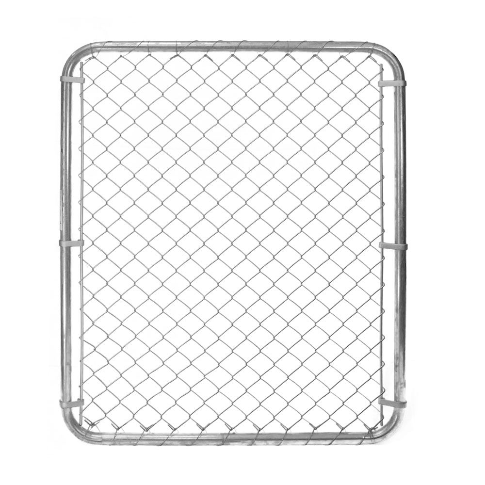 Chain Link Gate - 60 Inch Tall X 40 Inch Wide - Galvanized