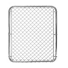 Chain Link Gate - 48 Inch Tall X 40 Inch Wide - Galvanized
