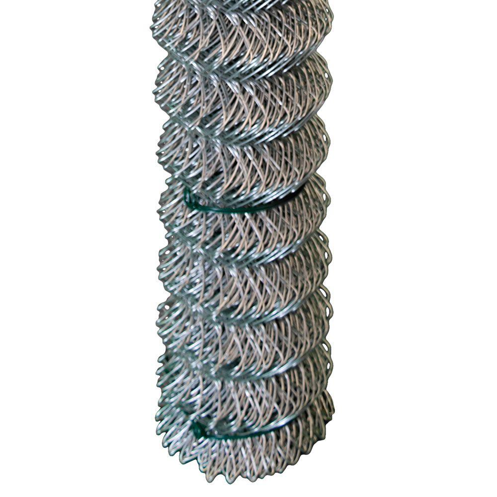 Grillage clôture maille de chaînes - 48 pouces hauteur x 50 pieds - Galvanisé - quadrillé 2 pouce...