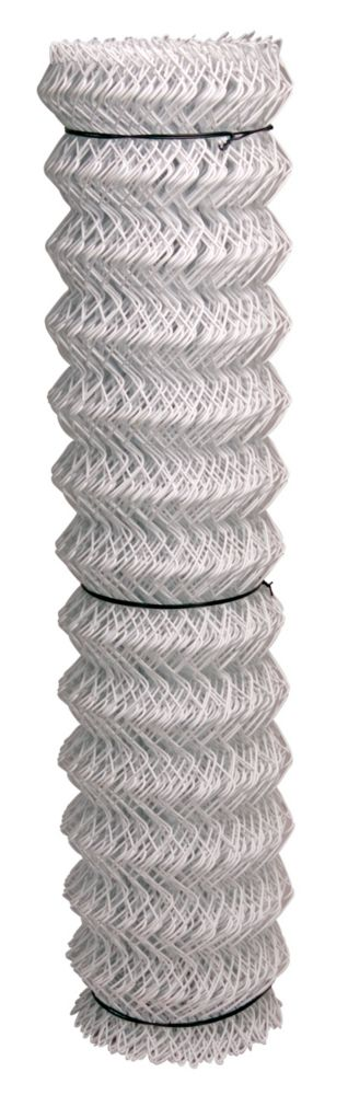 White 11 Ga Chain Link 2 inchX60 inchX50 foot