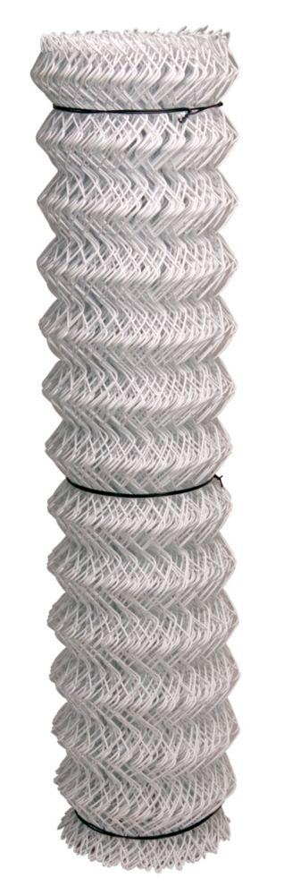 White 11 Ga Chain Link 2 inchX60 inchX50 foot