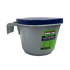 Quart Paint Container with Lid