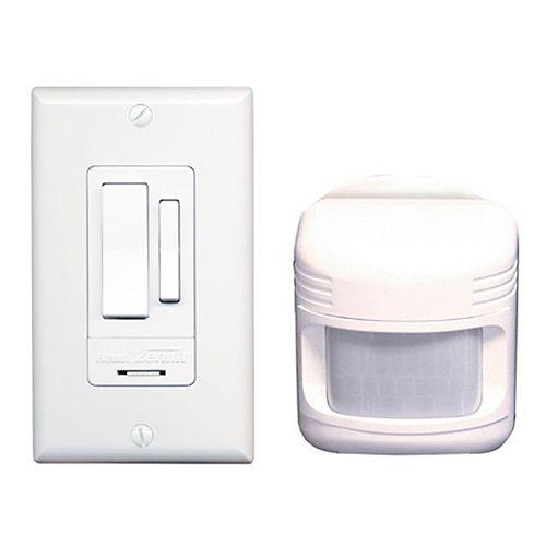 Heath Zenith Motion Activated Light Switch - White