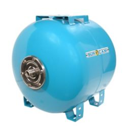 Bur-Cam 60 liter (15.8 USGAL) Horizontal Pre-Charge Captive Air Tank