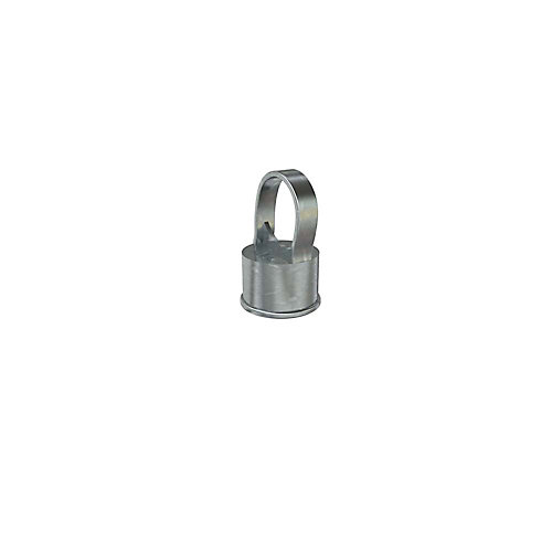 1-1/2 Inch x 1- 1/4 Inch Galvanized Chain Link Fence Line Post Cap