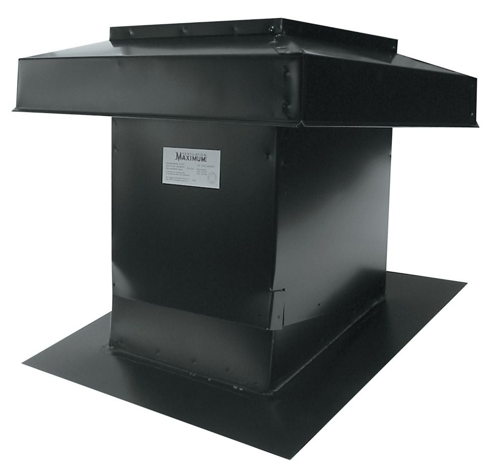 Sloped Roof Ventilator Model 302 Black