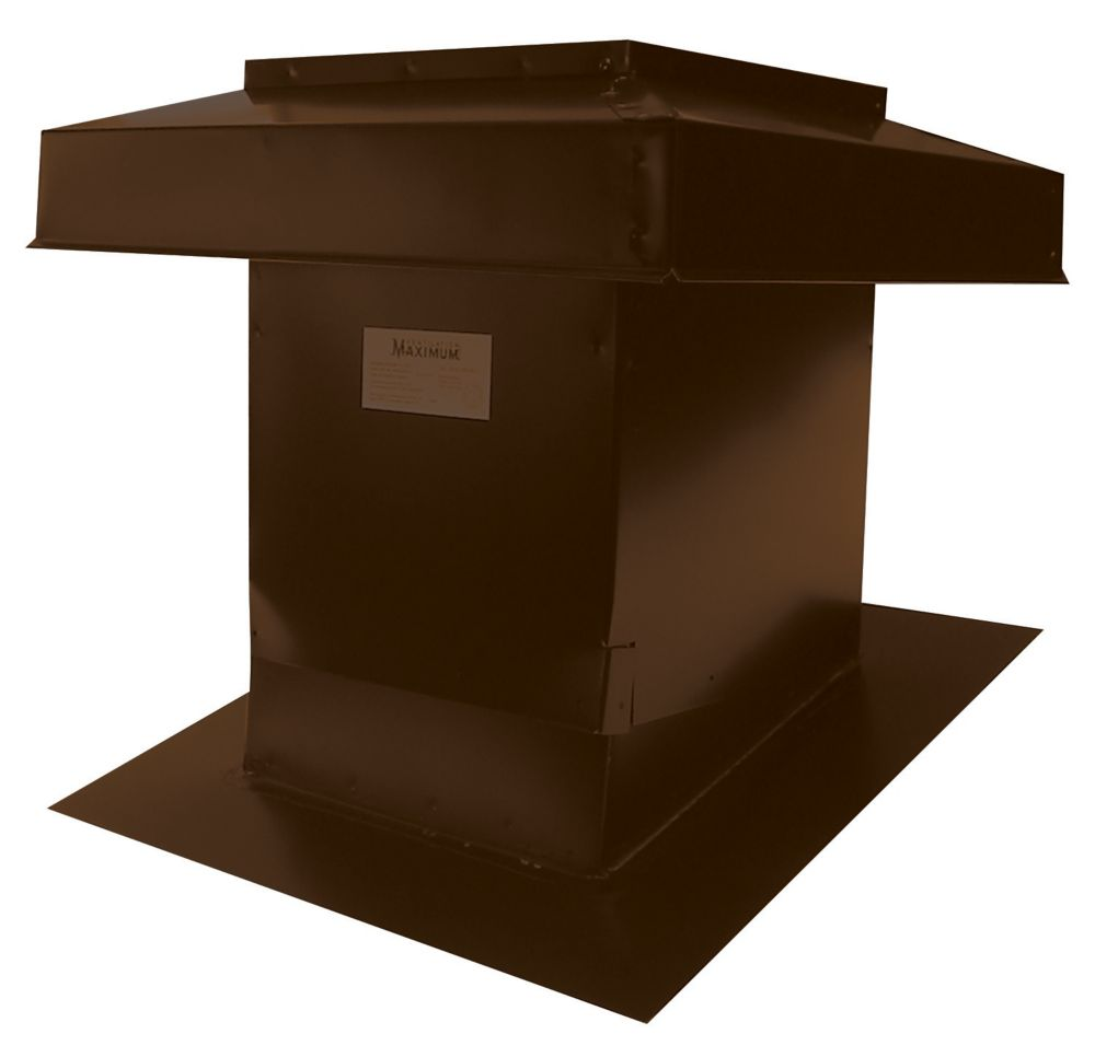 Sloped Roof Ventilator Model 302 Brown