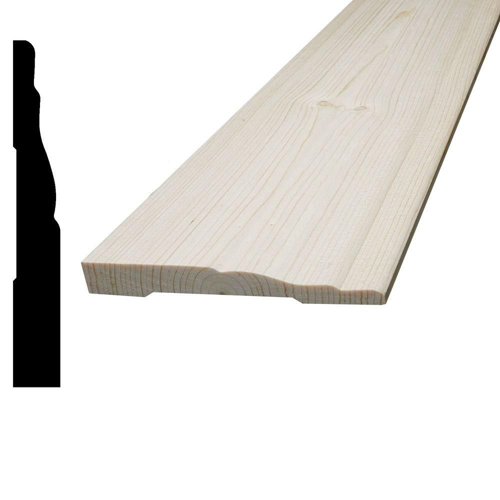 Knotty Pine Base 7/16 In. x 3-1/4 In.