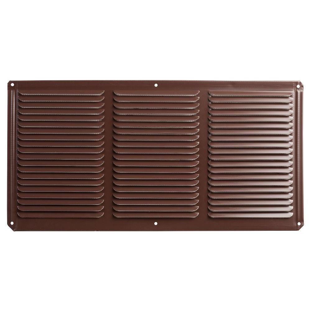 Speedi Grille 6 In X 12 In Brown Floor Register Vent
