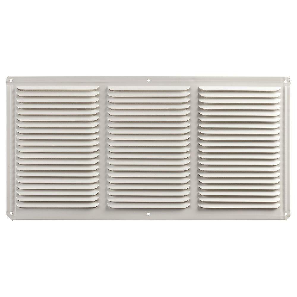 Évent usage de ventilation multiple fini blanc 8'' x 16''