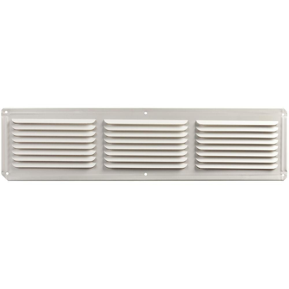 Évent usage de ventilation multiple fini blanc 4'' x 16''