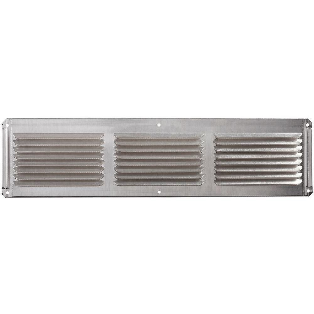 Évent usage de ventilation multiple fini métal 4'' x 16''