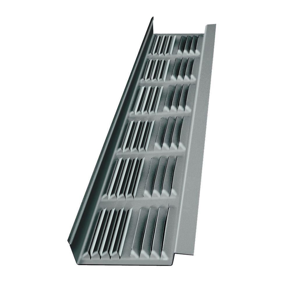 Soffite daluminium 8' fini métal