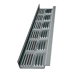 Master Flow Soffite daluminium 8' fini métal