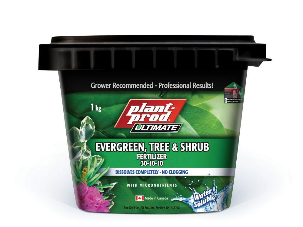 Engrais pour arbres et arbustes 30-10-10 (1 kg)