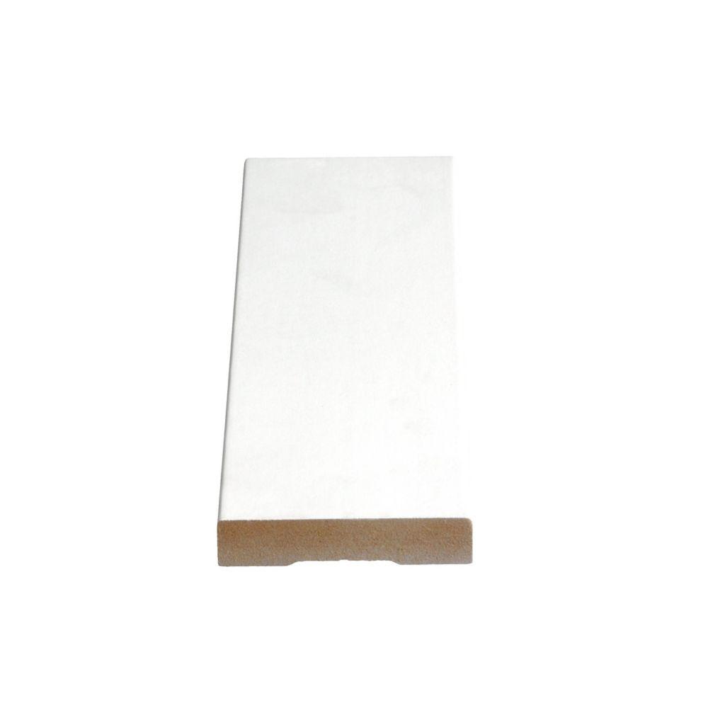 Primed Fibreboard Casing 5/8 In. x 3 In. (Price per linear foot)