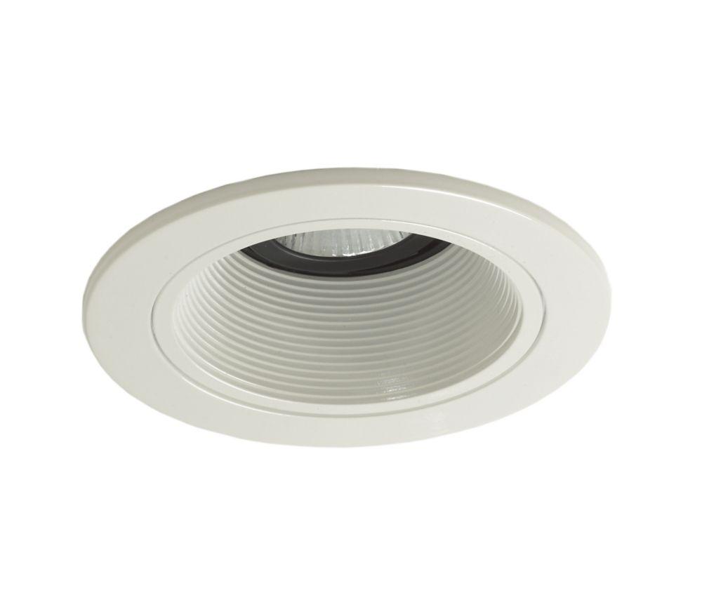 Halo  Déflecteur 983GUWHT Coilex, GU10, garniture blanc brillant, ouverture de 10 cm