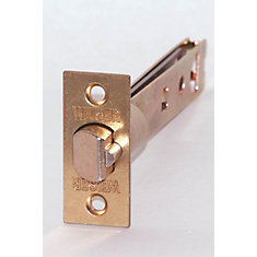 5 Inch Adjustable Latch In Brass
