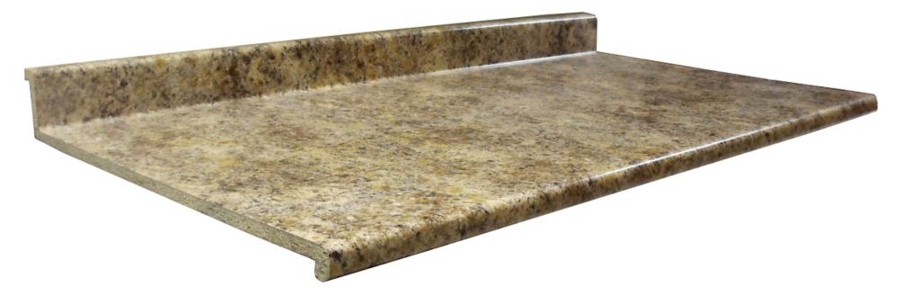 Countertop Materials Home Depot : Kitchen Countertop, Profile 2300, Butterum Granite 7732-46, 25.5 ...