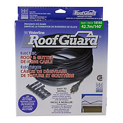 Waterline 140 ft. Roof & gutter de-icing cable