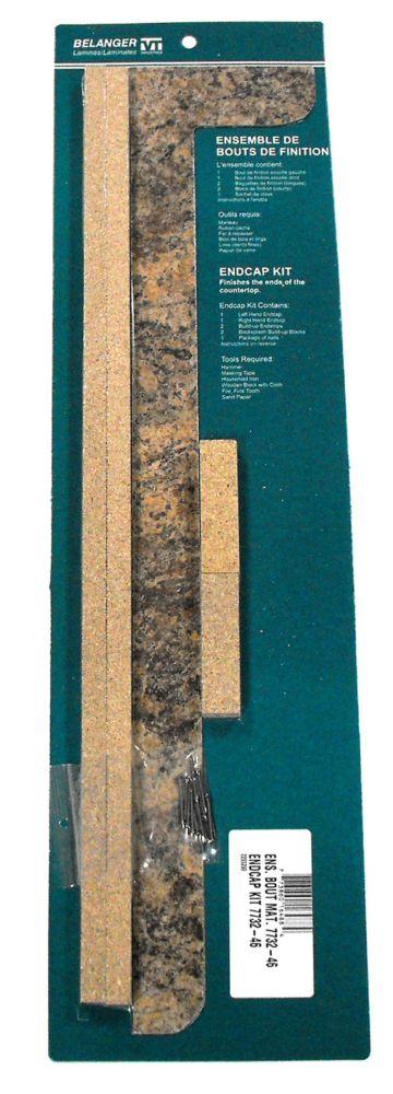 End Cap Kit , Butterum Granite 7732-46