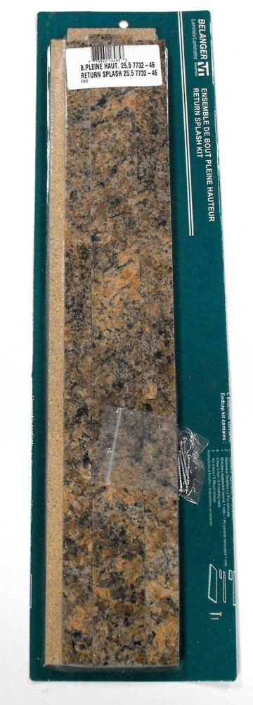 Return Splash Kit , Butterum Granite 7732-46