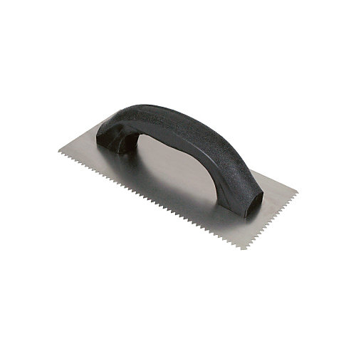 3/16 In. x 5/32 In. V-Notched Economy Wall Trowel