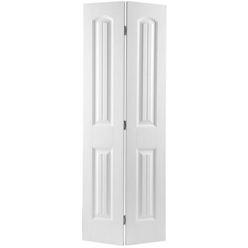 Masonite 24-inch x 80-inch 2-Panel Plank Smooth Bifold Door