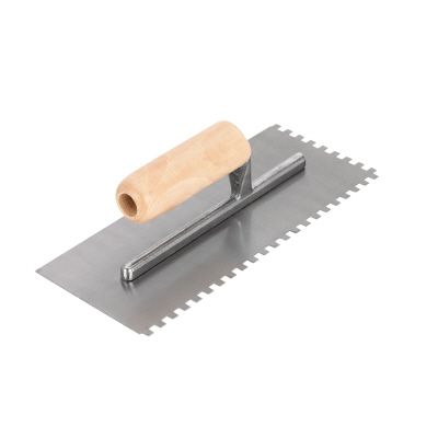 QEP 1/4 In. Square Notch Floor Trowel, ProSeries