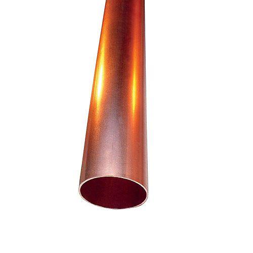Cerro 1/2 inch x 3 ft. Copper Type L Hard Temper Straight Pipe