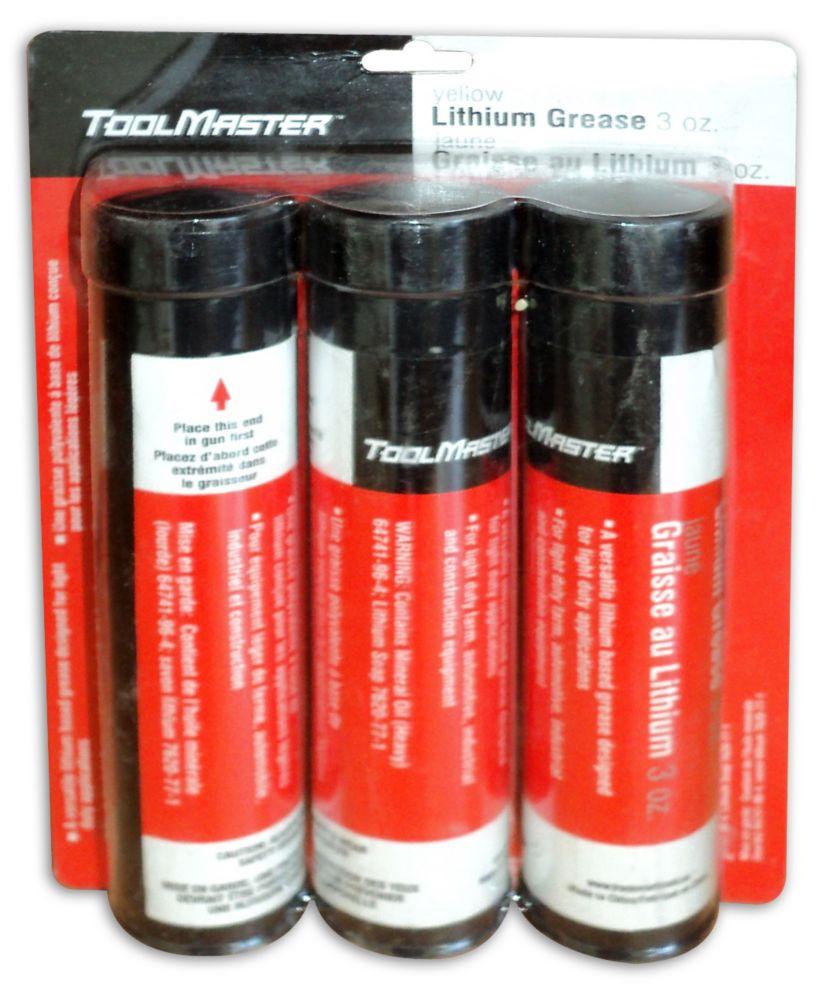 3  Oz.  lithium Grease