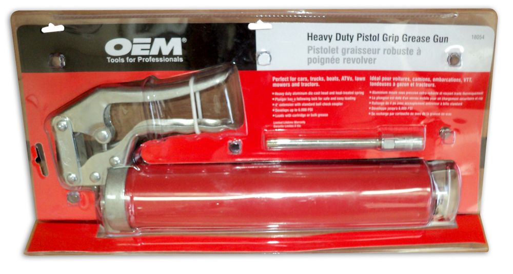 Heavy Duty Pistol Grease Gun 18054 Canada Discount