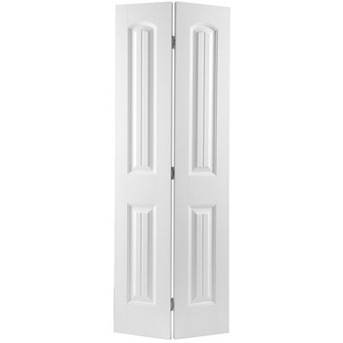 Masonite 36-inch x 80-inch 2-Panel Plank Smooth Bifold Door