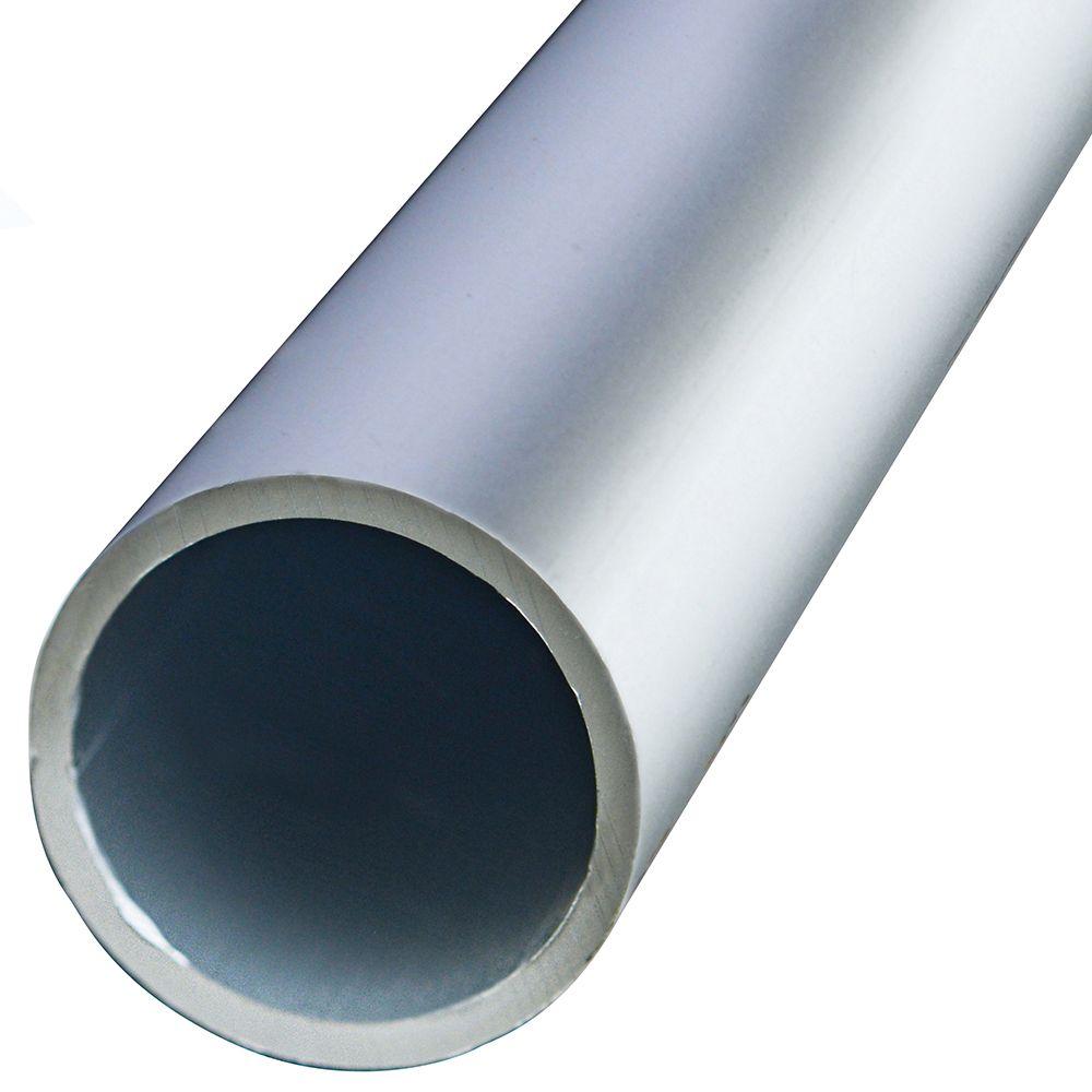 3/4x6 Tubulaires Ronde Aluminium