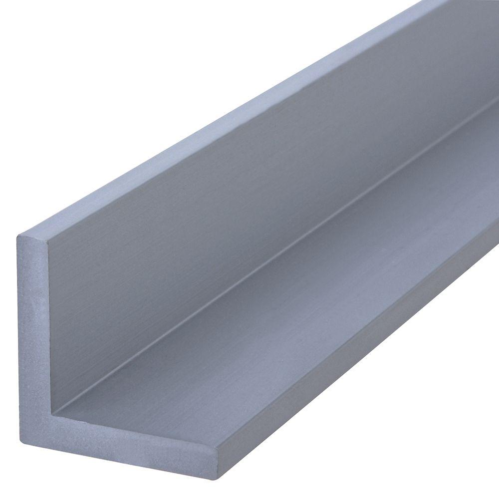 1/8x3/4x4 Angulaires Aluminium