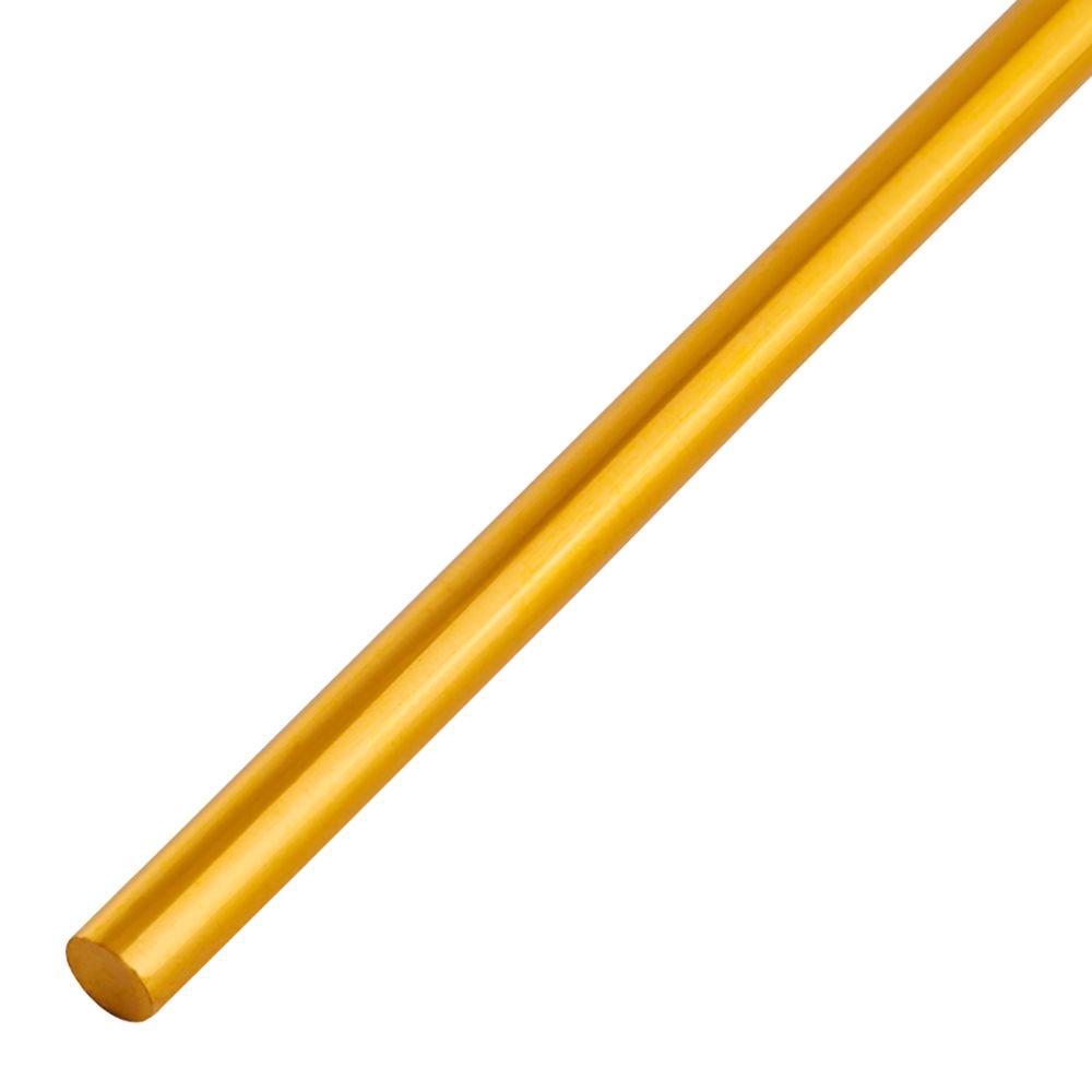 1/4 Round Brass Rods 3'