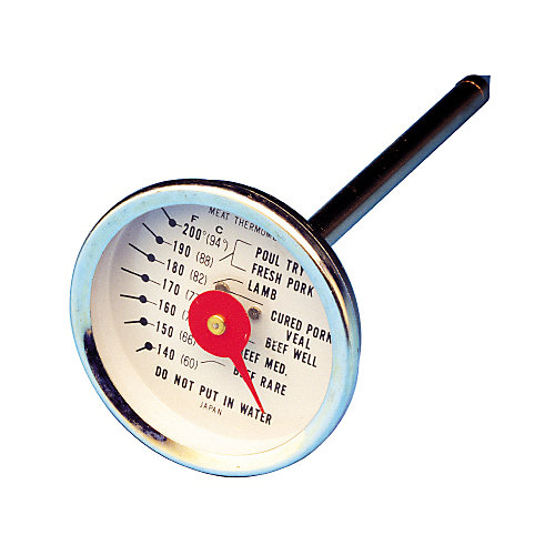 Stainless Steel Meat Probe Thermometer