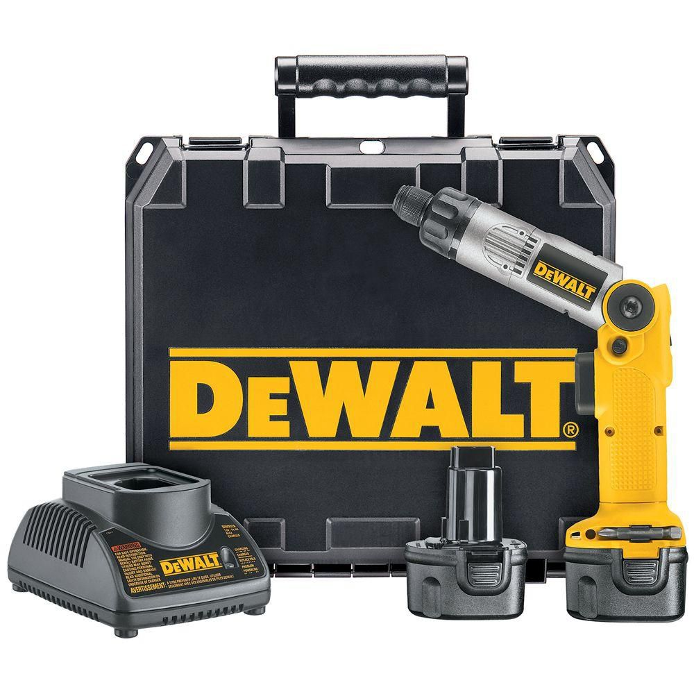 DEWALT 7.2V 1/4-inch Cordless 2-Position Screwdriver Kit