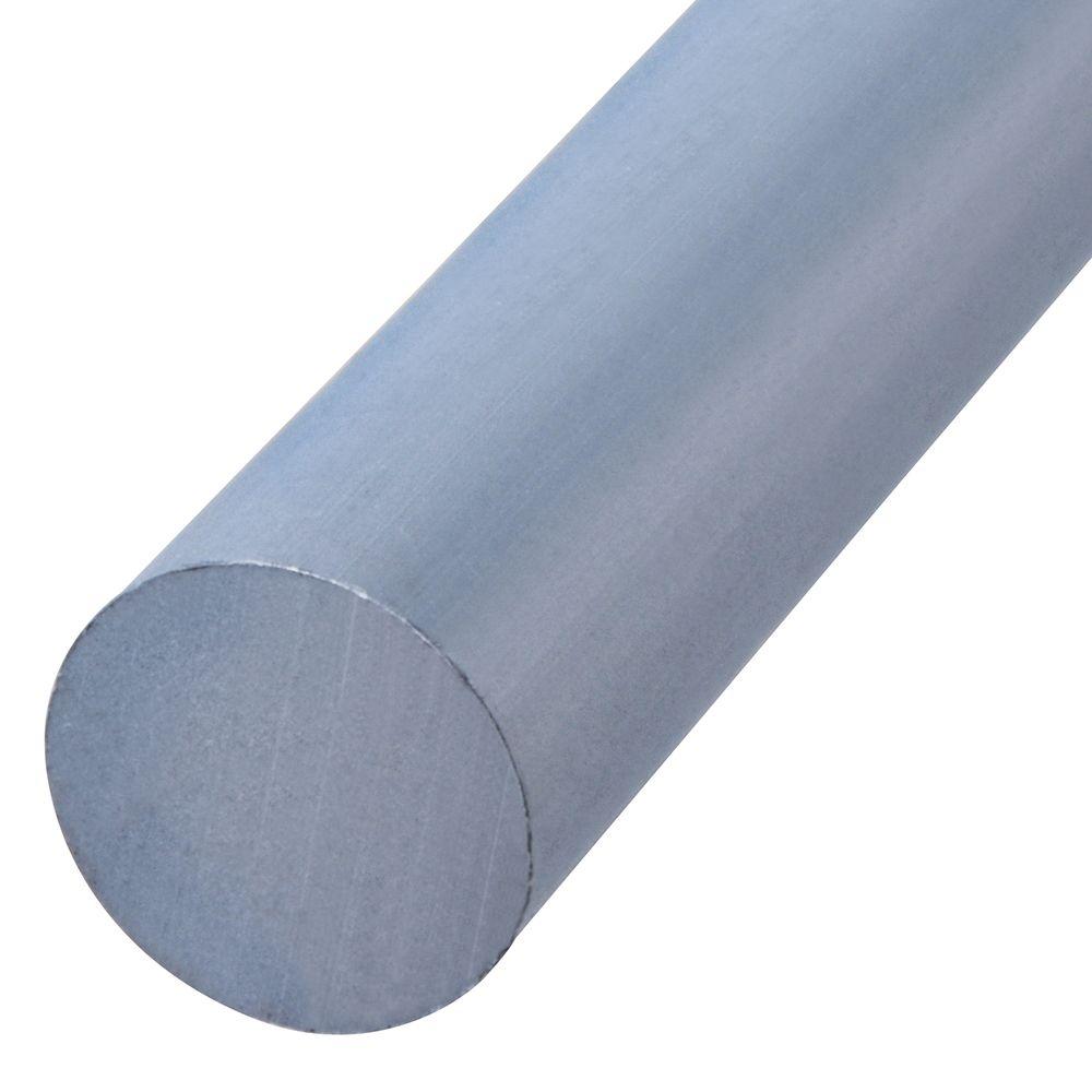 3/8X4 Round Aluminum Rods
